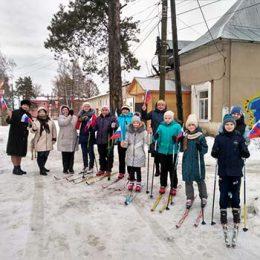 Спортивное мероприятие «Оздоровительная лыжня». Библиотека пос. Труд