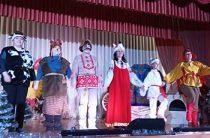 Сказка «Заюшкина избушка» на сцене сельского дома культуры пос. Труд
