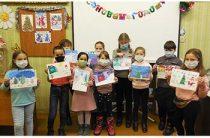 Конкурс рисунков «Волшебница-зима» в Пекшинской сельской библиотеке