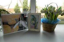 Мастер – класс «Акварельные открытки «Капельки весны»