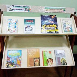 Выставка книг «Мир профессий открывает книга»