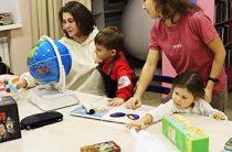 Молодые мамы посетили «Парк интеллектуальных развлечений» в центральной межпоселенческой библиотеке МБУК «МЦБС Петушинского района»
