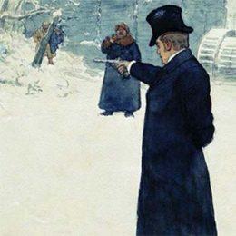 Скрытая реклама в романе «Евгений Онегин». Пистолет «Лепаж»