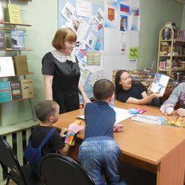 Акция «Читаем вместе, читаем вслух!» в сельской библиотеке пос. Труд