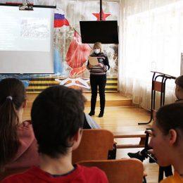 Урок исторической памяти «Нам подвиг Сталинграда не забыть»
