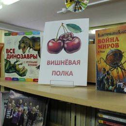 Книжная выставка «Вишнёвая полка»