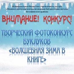 Положение фотоконкурса буклуков «Волшебная зима в книге»