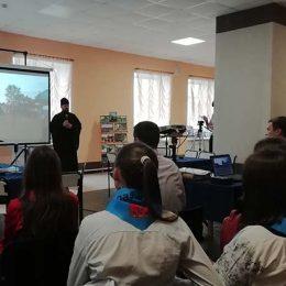 Участие добровольческого отряда МБУК «МЦБС Петушинского района» в V Епархиальных рождественских чтениях