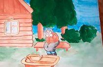 Акция «Читаем Пушкина вместе». Попова Екатерина, ученица 6 класса ОГБОУ Вейделевской СОШ читает сказку «О рыбаке и рыбке» А.С. Пушкина
